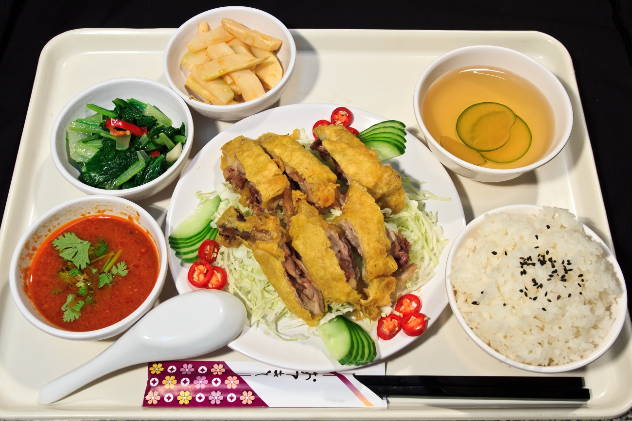 套餐-椒麻雞腿飯1