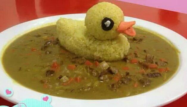 黃色小鴨咖哩飯