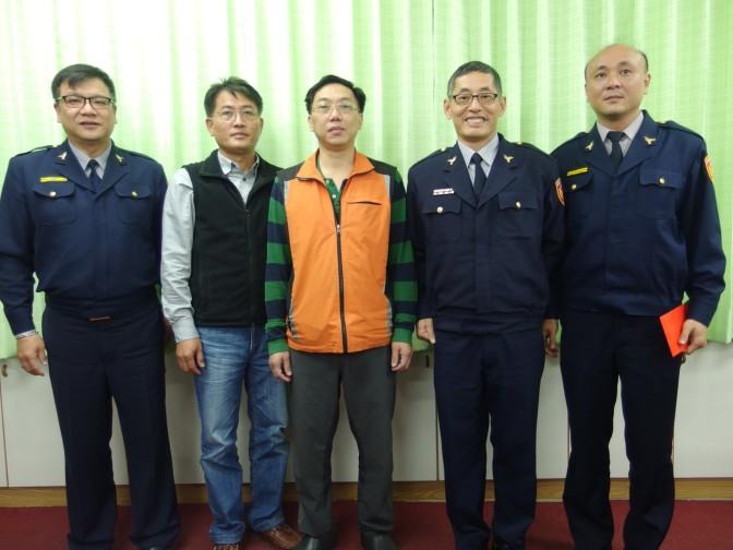 警友會至花蓮警分局慰問表揚破案有功員警
