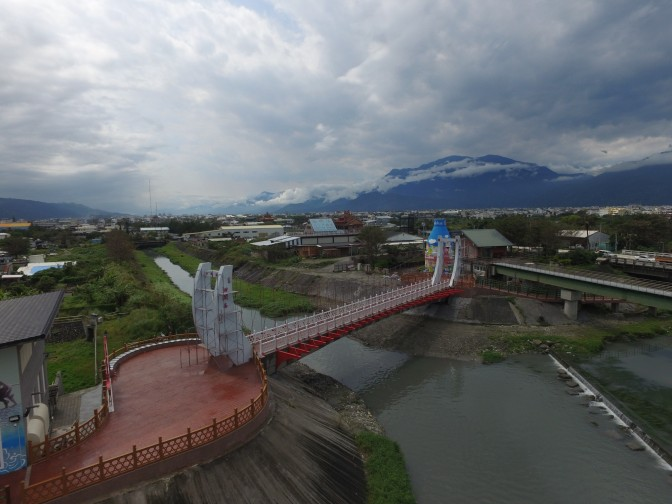 吉安鄉景觀橋「洄瀾橋」4月28日啟用