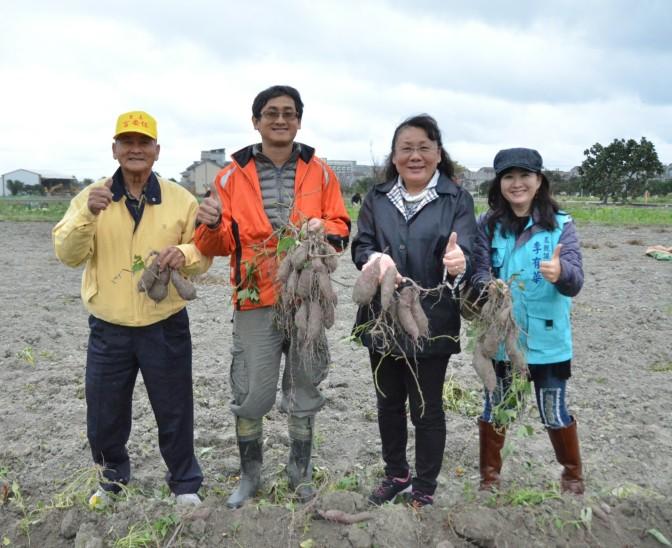 吉安鄉長黃馨走訪青年農民 鼓勵從事農業並協助農友反映實質問題