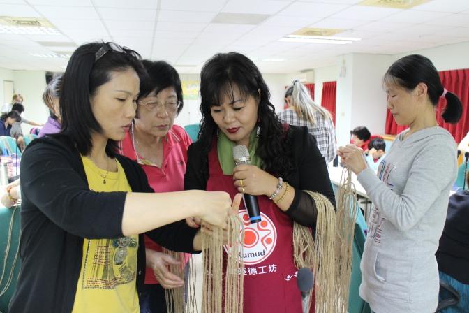 花蓮縣婦女福利服務中心舉辦「織你的鄉村風」手作成長講座